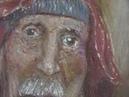Полина Никитина. «Работа над портретом пастельными мелками и карандашами»