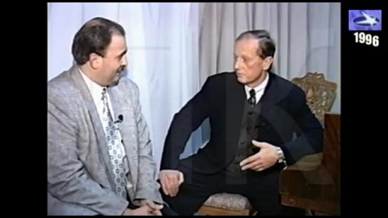 1996г. М. Задорнов - Интервью Николаю Пивненко.