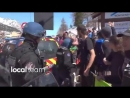 ️ Des militants d'extrême gauche forcent la frontière France Italie pour faire rentrer des migrants en France illégalement C'