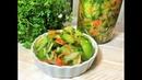 ХИТ ОСЕНИ Салат из Зеленых Помидоров ПИКАНТНАЯ ЗАКУСКА быстрая можно на зиму