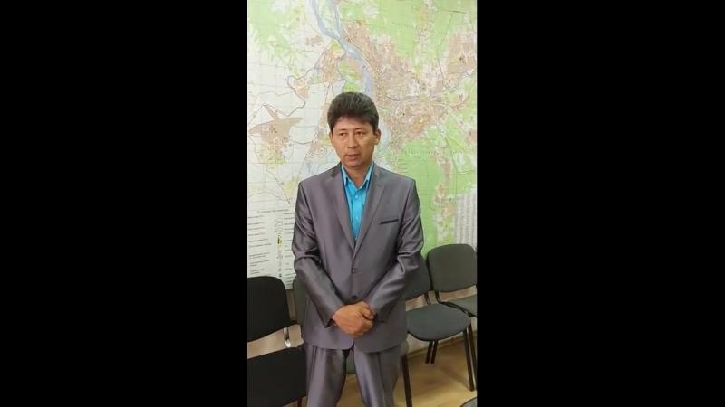 Интервью с Валерием Вильдавским, начальником Управления по ЧС г. Улан-Удэ