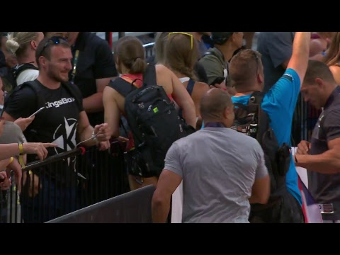 2018 CrossFit Games | Age Group Complex Fran