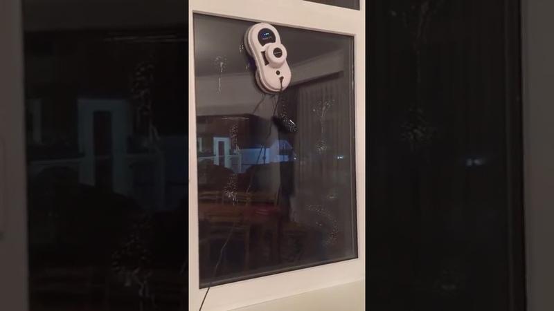 Робот для мытья окон, зеркал и плитки Alfawise S60 Window Cleaning Robot Cleaner