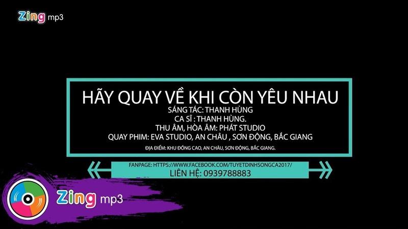 Hãy Quay Về Khi Còn Yêu Nhau - Ngọc Thanh Hùng (MV)