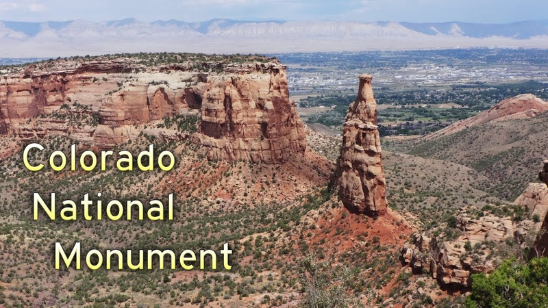 Grand Circle Tour II Ep 9 Colorado National Monument Rim Rock Drive