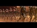 Джедаи сражаются с дроидами. Мейс Винду убивает Джанго Фетта. HD