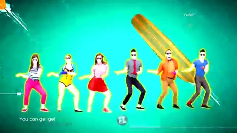 Just Dance 2014 - Kiss You (6 Players) (60FPS)
