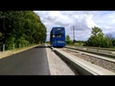 Guided bus running on Cambridgeshire Guided Busway