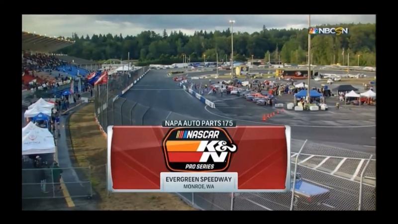 2018 NASCAR KN Pro Series West - Round 09 - Evergreen 175