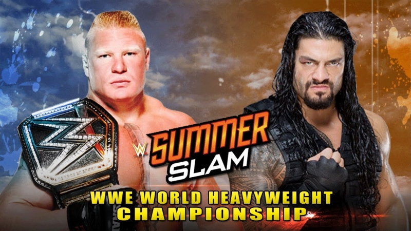 Lesnar vs Reigns SummerSlam 2018 (RUS)