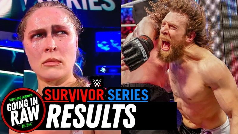 WWE Survivor Series 2018 Full Results Review (Going In Raw Pro Wrestling Podcast)