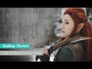 How to make Tauriels Knives Tutorial | Naoko Cosplay |