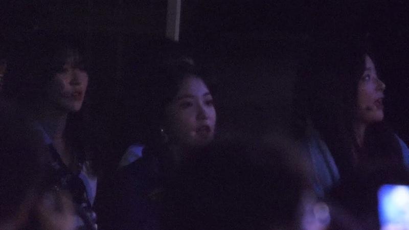 180916 레드벨벳 대기중 에디킴 노래 리액션 Red Velvet Reaction 직캠 @ 어제그린오늘 뮤직 페스