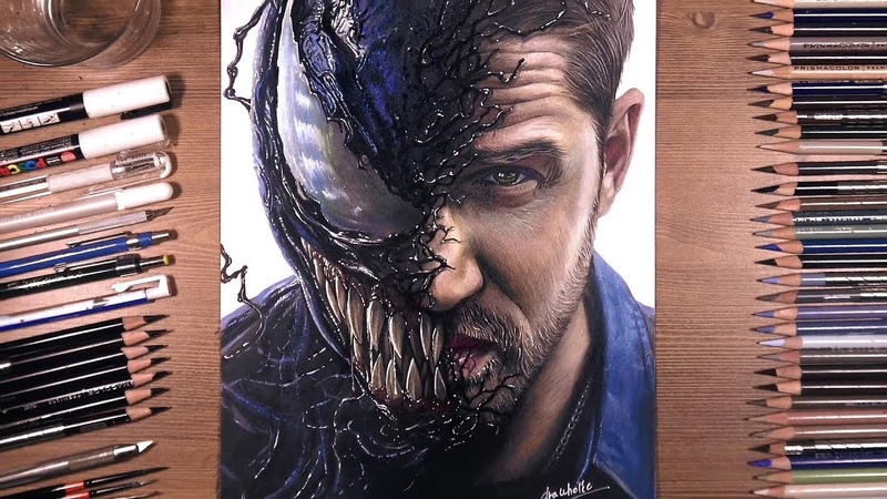 Drawing Venom (Tom Hardy)   drawholic