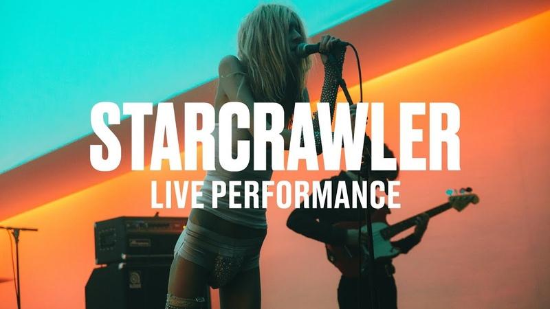 Starcrawler Chicken Woman (Live)   Vevo DSCVR