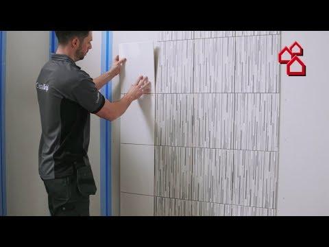 Die neue Art Fliesen zu verlegen mit Cristalgrip von Johnson Tiles - BAUHAUS TV