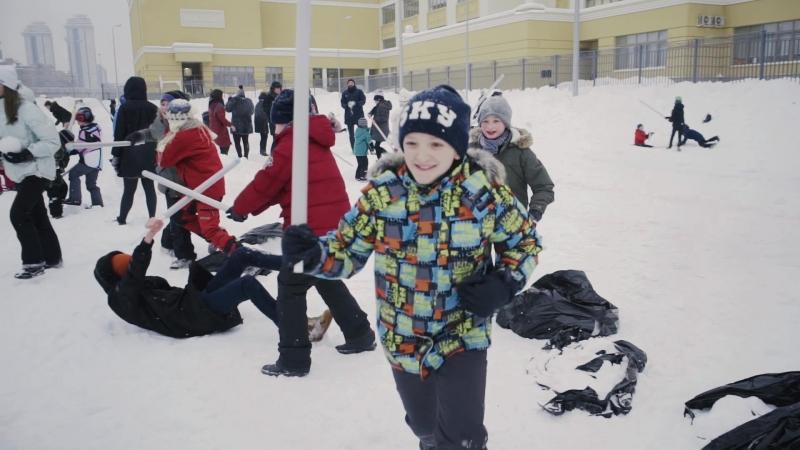 Космическая весна в Новой школе