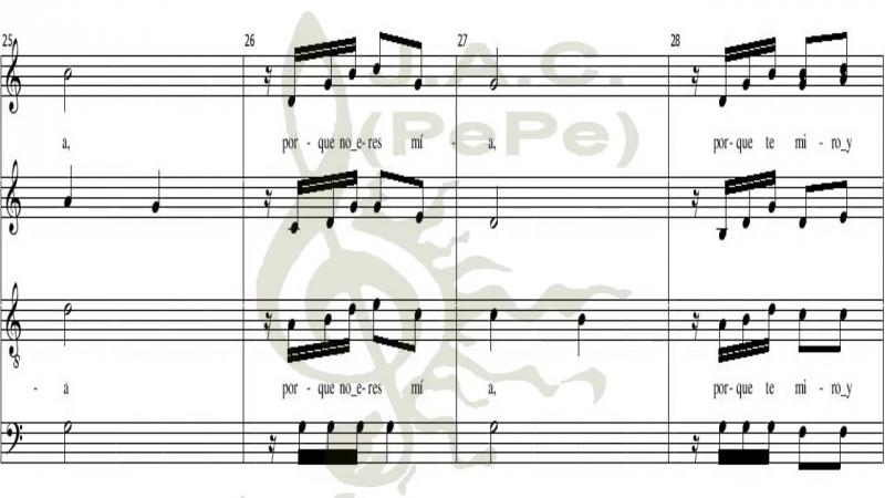CORAZÓN CORAZA -Coro de Cámara Exaudi (Cuba)