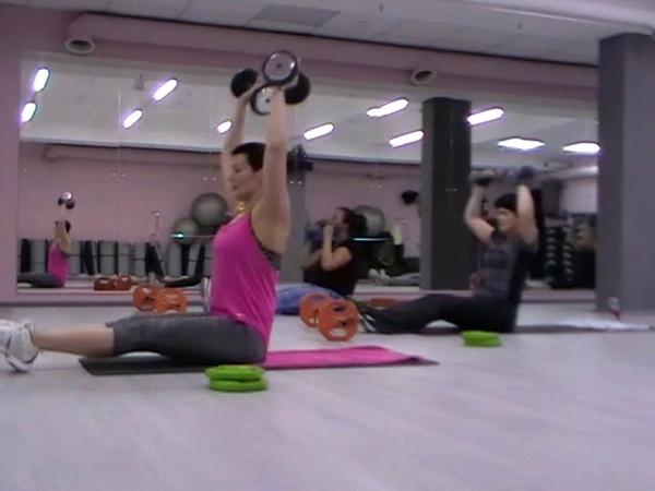 Функциональный тренинг. Семинар SFC. Упражнение для мышц живота.