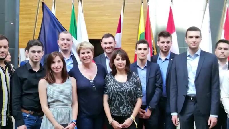 Les Jeunes du Rassemblement National Génération Nation répondent en force à l'appel des eurodéputés ENL we 2 3 06 18
