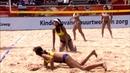 Лучшие моменты пляжного волейбола