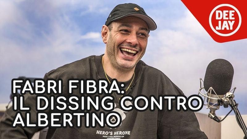 Fabri Fibra spiega la rima del 2004 contro Albertino