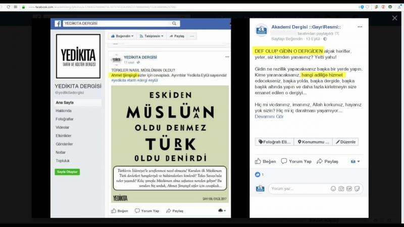 Yedikıta ve Çamlıca Kitaptaki rezillik NİFAK derecesinde (15 Parça) | Mustafa Armağan gerçeği