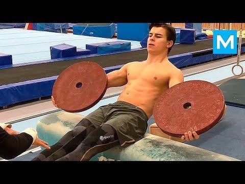 Hardest Gymnastics Workouts - William Broman | Muscle Madness
