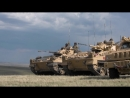 Battlegroup training (The King's Royal Hussars) British Army