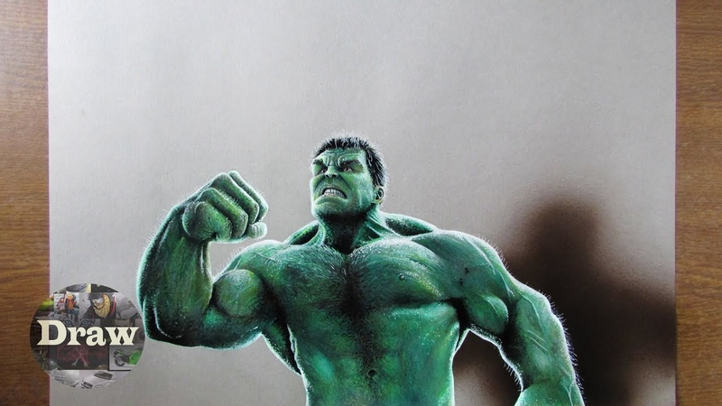 Drawing hulk | Халк | Рисунок