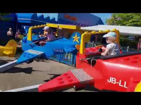 Поездка в Леголенд в Дании Зоны Lego Duplo и Звездные войны