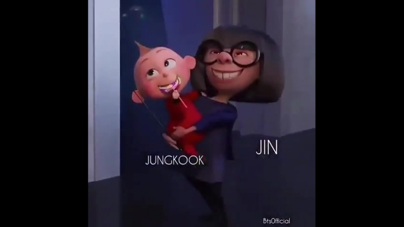 Jin when he wants to enter the Genius lab