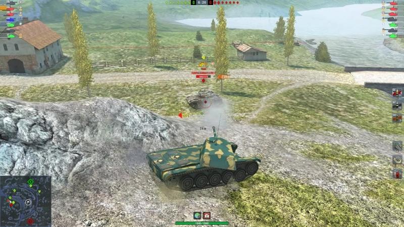 гайд по танкованию на cdc