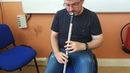 Mikie Smyth playing on Nightinale low Eb whistle