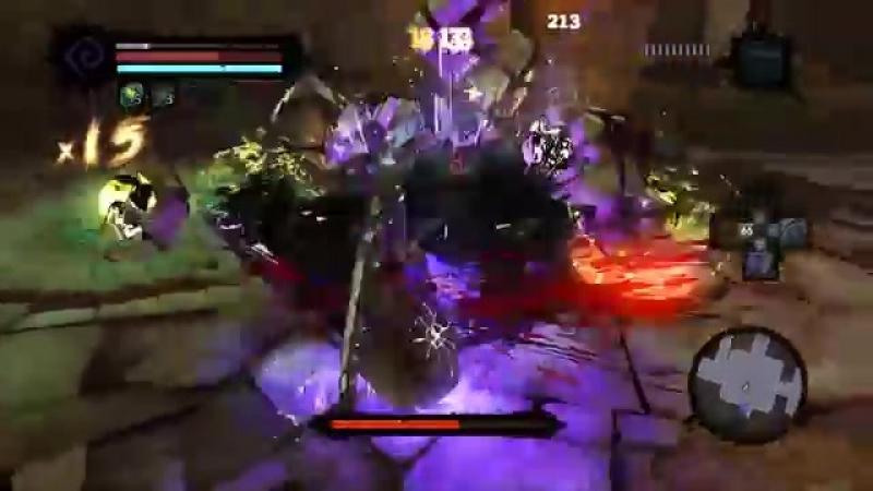Darksiders 2 - Босс Оскверненный охранник.mp4