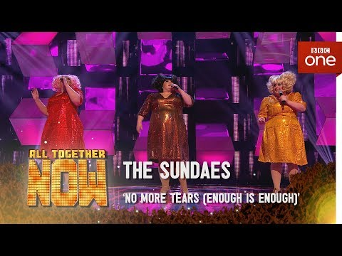 The Sundaes performs No More Tears (Enough is Enough) by Donna Summer - All Together Now Episode 1