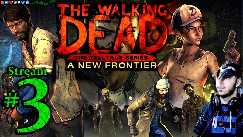 The Walking Dead S3🧟EP 4 5🧠1st Time🤮☠️ All DLC💸PC💻Max✨3rd Stream🎋