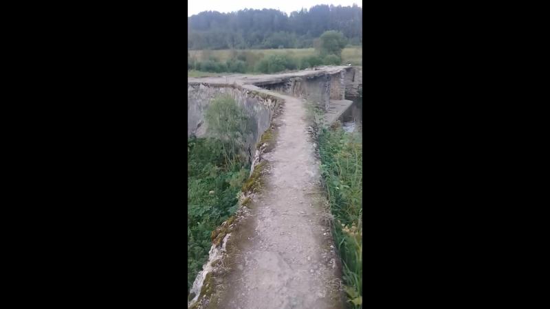 заброшенная плотина ГЭС, волосовский район