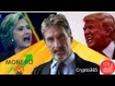 John McAfee Ups Bitcoin Target Price To $1 Million By End 2020
