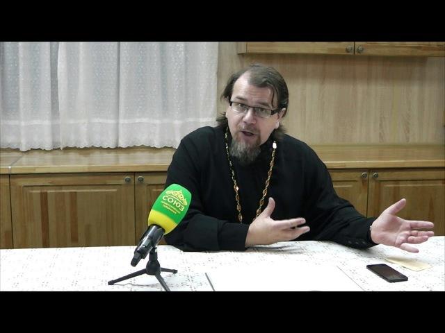 Великий покаянный канон Андрея Критского часть 6 Беседа с иереем Константином Корепановым