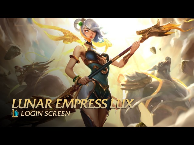 Lunar Empress Lux Login Screen Fan Made
