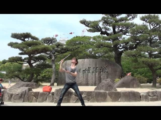 TS旋舞炎 火焰背包客 FireLien@汗漠足跡-日本 (Whole World Around Project's Secend Stop-Asia,Japan)