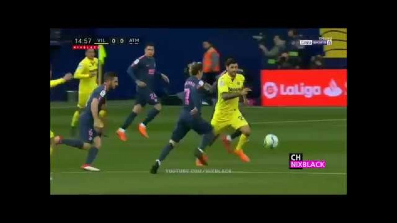 Вильярреал vs Атлетико Мадрид 2-1. ОБЗОР МАТЧА 18.03.18 (HD)
