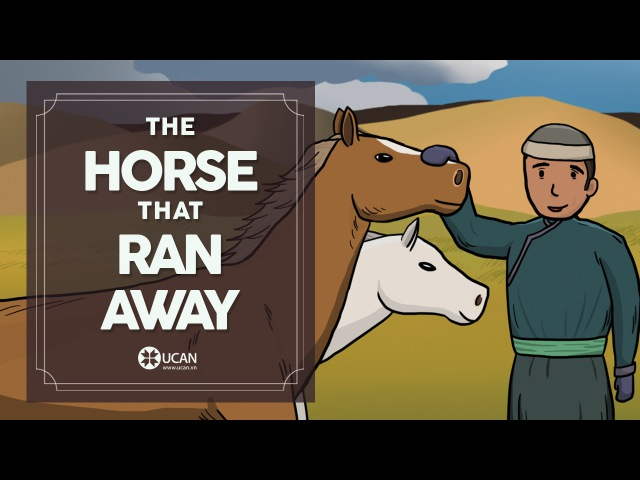 Learn English Listening | English Stories - 33. The Horse that Ran Away