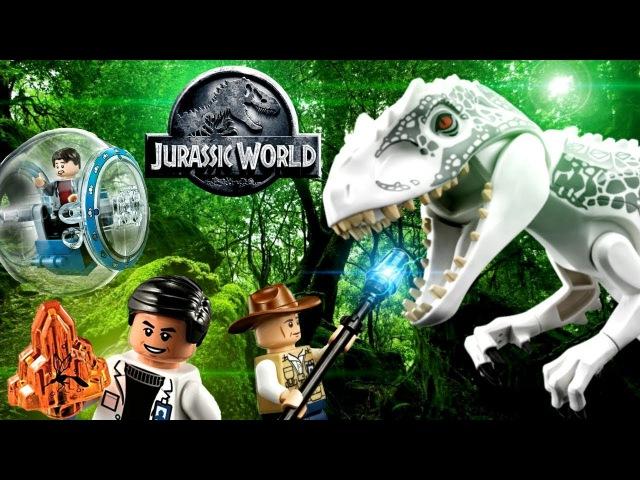 LEGO Jurassic World Indominus rex Breakout 75919 Обзор Лего