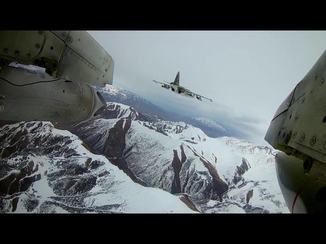 Российские летчики ракетными ударами перекрыли маршруты «боевиков» на учениях в Киргизии