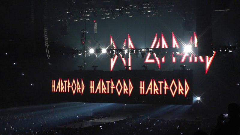 Def Leppard 5/21/18 - 1: Intro/Rocket - Hartford, CT - Tour Opener