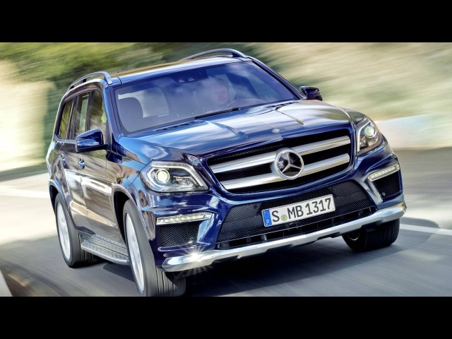 Mercedes Benz GL 350 BlueTec AMG Sports Package X166 2012–15