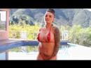 Very beautiful micro bikini model video