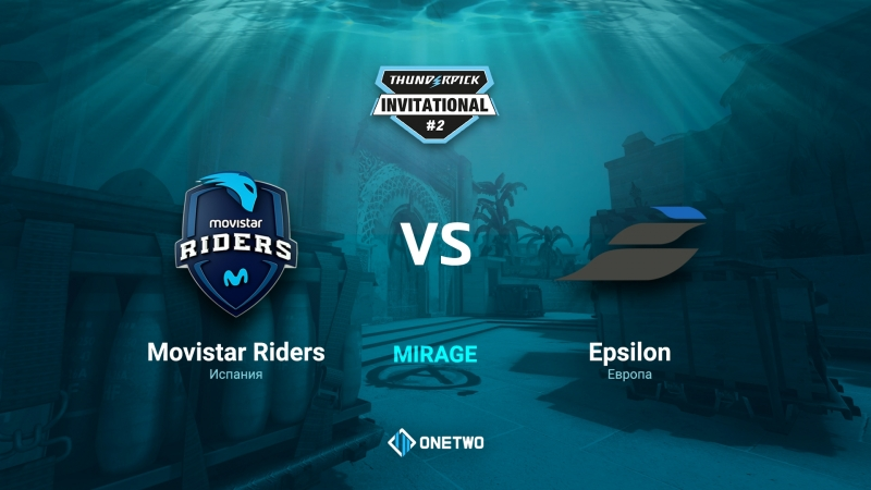Thunderpick Invitational 2 Movistar Riders vs Epsilon BO1 by Afor1zm